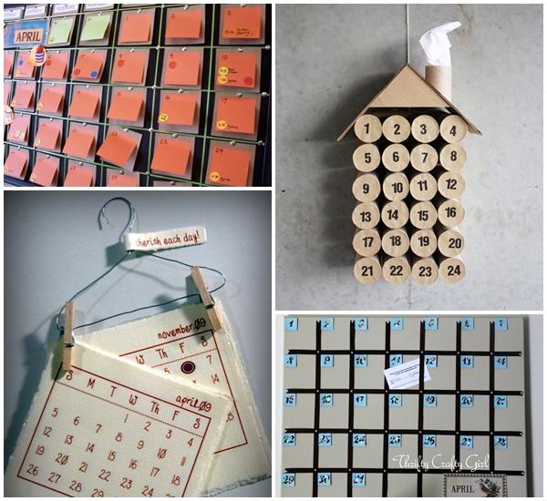 10 ไอเดีย DIY ปฏิทิน รับปีใหม่