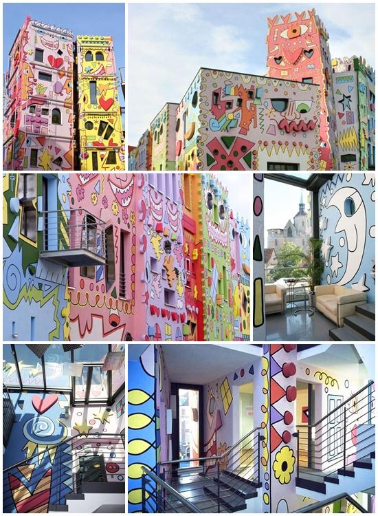 ริชชี่ เฮ้าส์ บ้านอารมณ์ดี สีสดใส