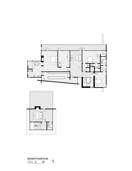 แบบบ้าน 2 ชั้นครึ่ง ทรงโมเดิร์น ความทันสมัยกลางธรรมชาติ