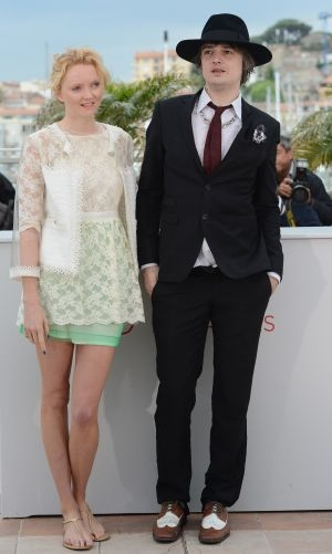 Lily Cole and Pete Doherty