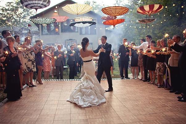 จัดงานปาร์ตี้หลังพิธีแต่งงาน