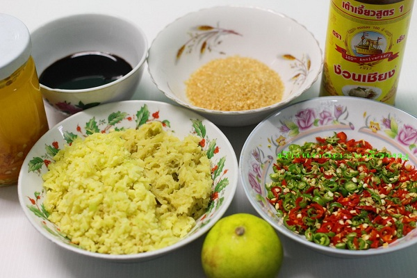 Chicken rice with dipping sauce recipe  A secret that you can do yourself