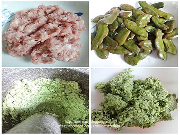 น้ำพริกมะขาม ตำรับไทย ตำ ๆ ผัด ๆ ทำง่าย ๆ