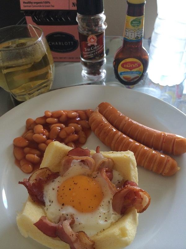 อาหารเช้าแบบเร่งด่วน