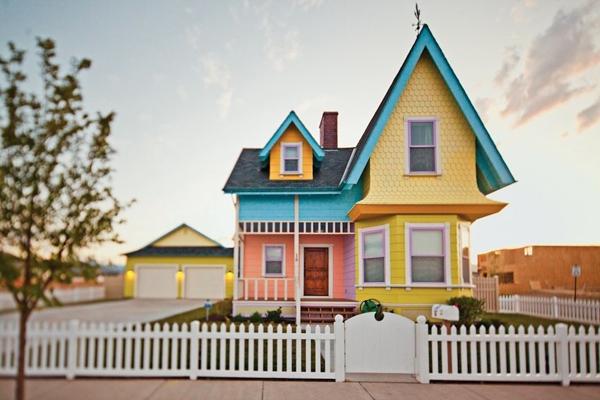 บ้านในฝันจากการ์ตูนชื่อดัง