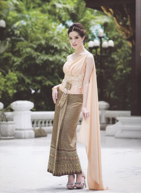 ชุดแต่งงานไทย