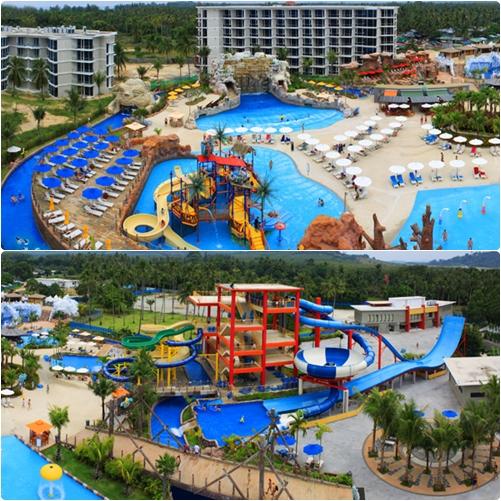 สวนสนุกทางน้ำ สแปลช จังเกิ้ล