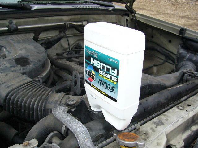 ล้างหม้อน้ำ วิธีถ่ายหม้อน้ำรถ
