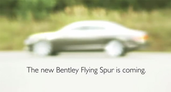 Bentley Continental Flying Spur รุ่นปี 2014