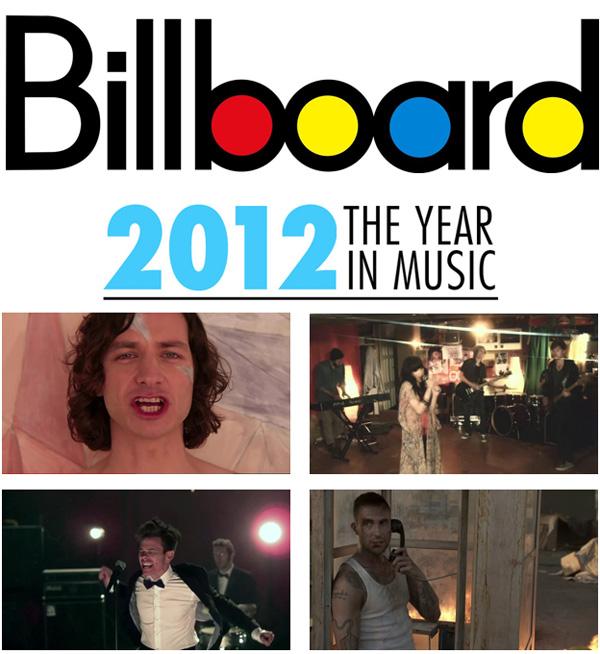 20 อันดับเพลงฮิตแห่งปี 2012 ของ Billboard