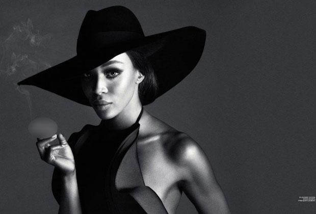 Kate Moss - Naomi Campbell