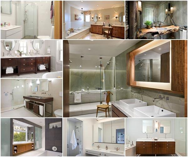 รวม 30 เคาน์เตอร์ห้องน้ำสวย ๆ