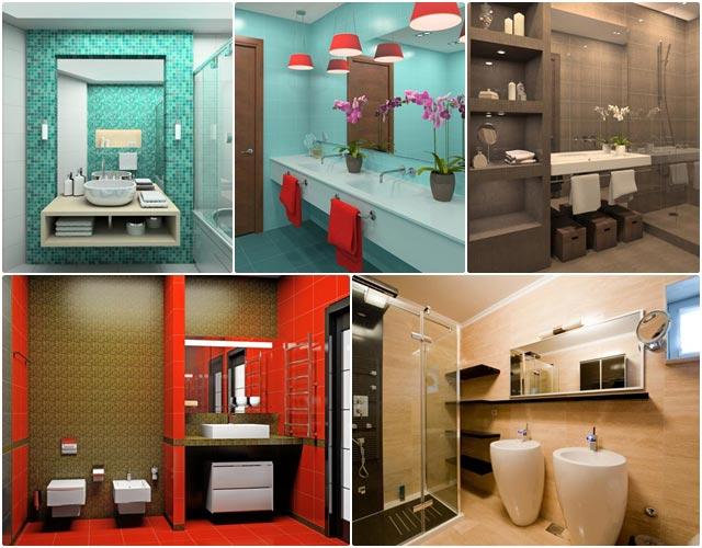 มาดูกัน ตกแต่งอย่างไรให้ห้องน้ำดูสดใสน่าใช้ขึ้น