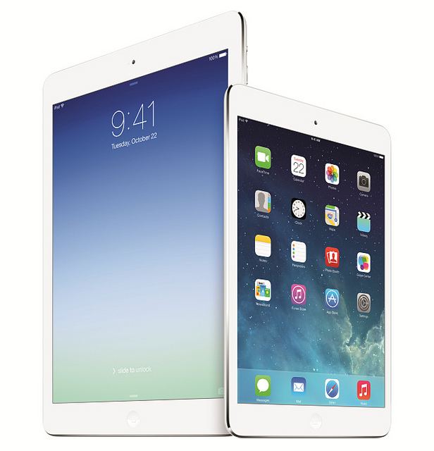 iPad Air/iPad mini with Retina Display