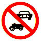 ห้ามรถจักรยานยนต์และรถยนต์
