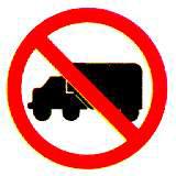 ห้ามรถบรรทุก