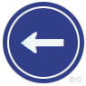 ทางเดินรถทางเดียวไปทางซ้าย
