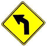 ทางโค้งซ้าย