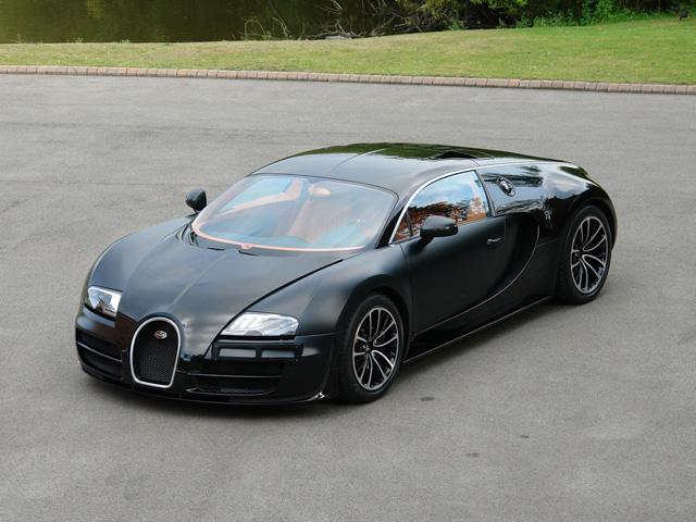 ugatti Veyron 16.4 Super Sport Sang Noir