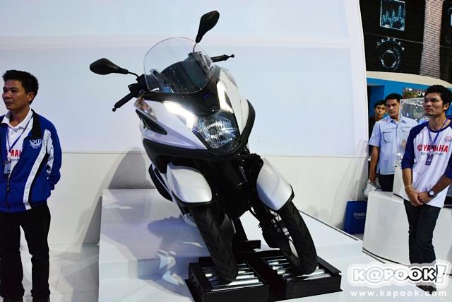 Yamaha Tricity,มอเตอร์ไซค์ 3 ล้อ