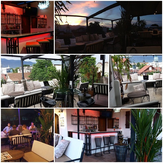 Oasis Roof Top Garden Bar