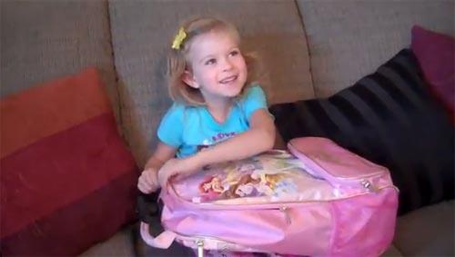 ปฏิกิริยาเซอร์ไพรส์สุดขีด ของสาวน้อยน่ารักกับของขวัญวันเกิด