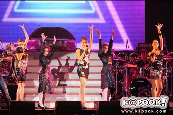 คอนเสิร์ต 3 ทหารเสือสาว limited edition live show จัดหนักความสนุก