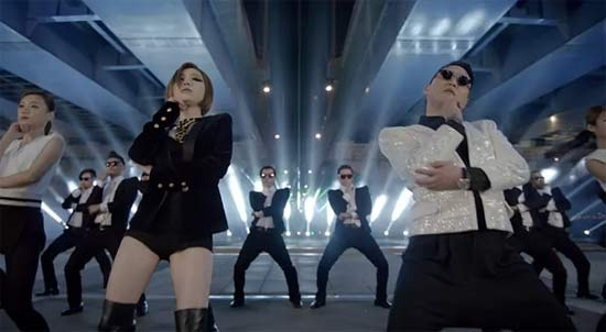สุดฮอต เพลง Gentleman ของ Psy ขึ้นอันดับ 1 Youtube
