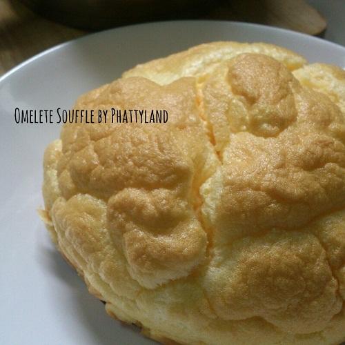 ไข่เจียวซูเฟล่ เมนูไข่ไร้น้ำมันเนื้อฟูนุ่ม