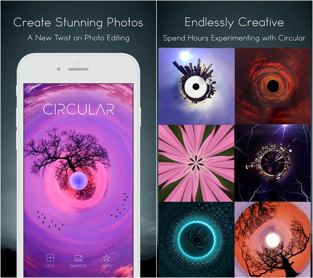 Circular+ แอพฯ แต่งภาพสุดแนว ! ทำรูปวงกลมสุดเก๋